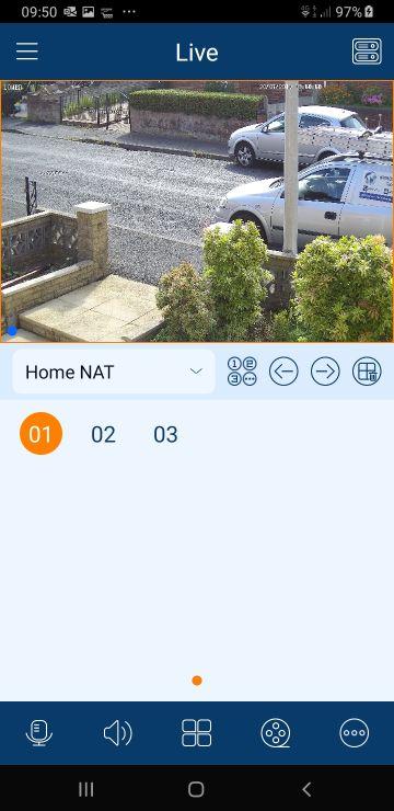CCTV live view screenshot