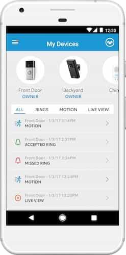 Video Doorbell Notifications